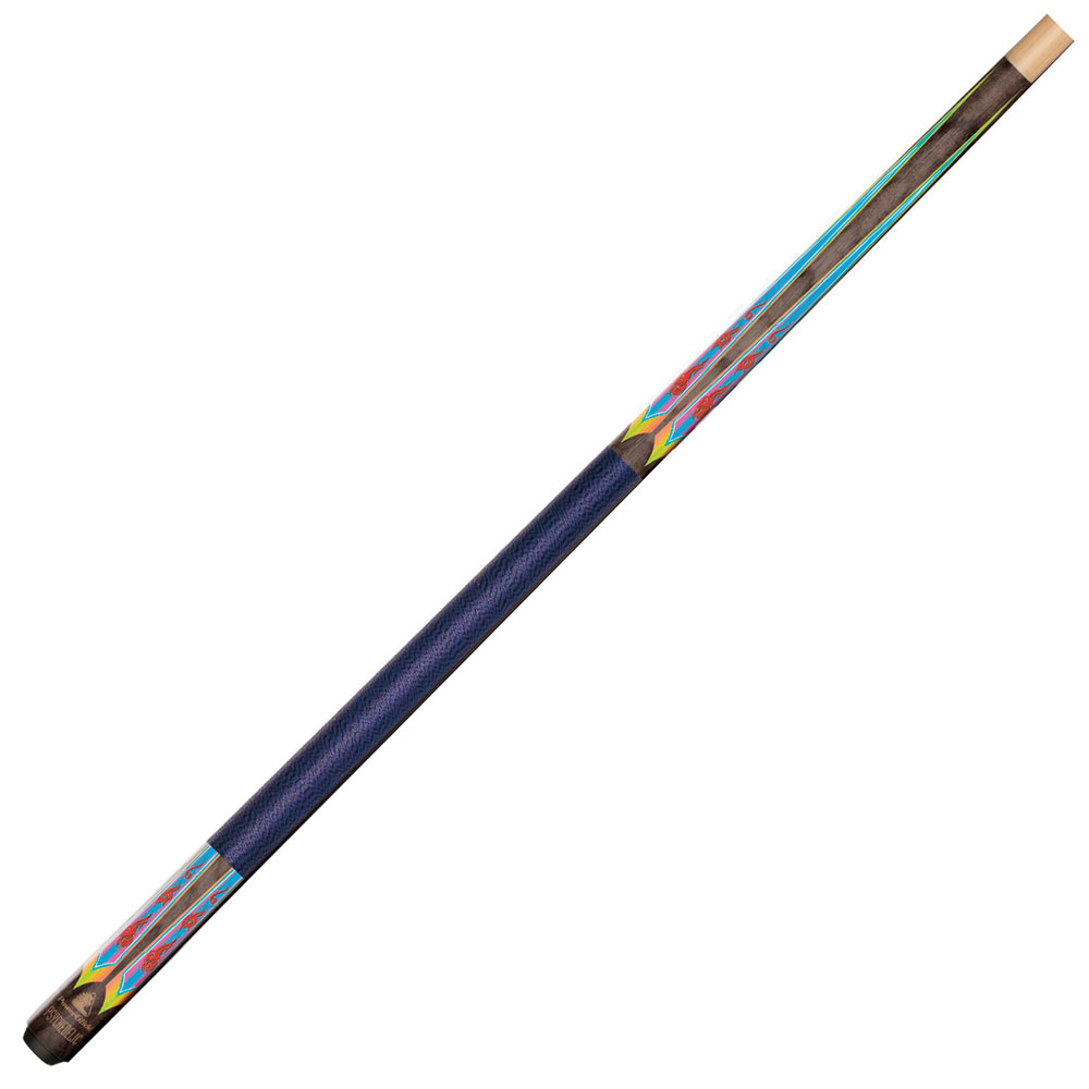 Psychedelic Pool Cue  - Tip Size 10mm