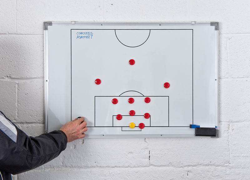 Precision Double-Sided Soccer Tactics Board