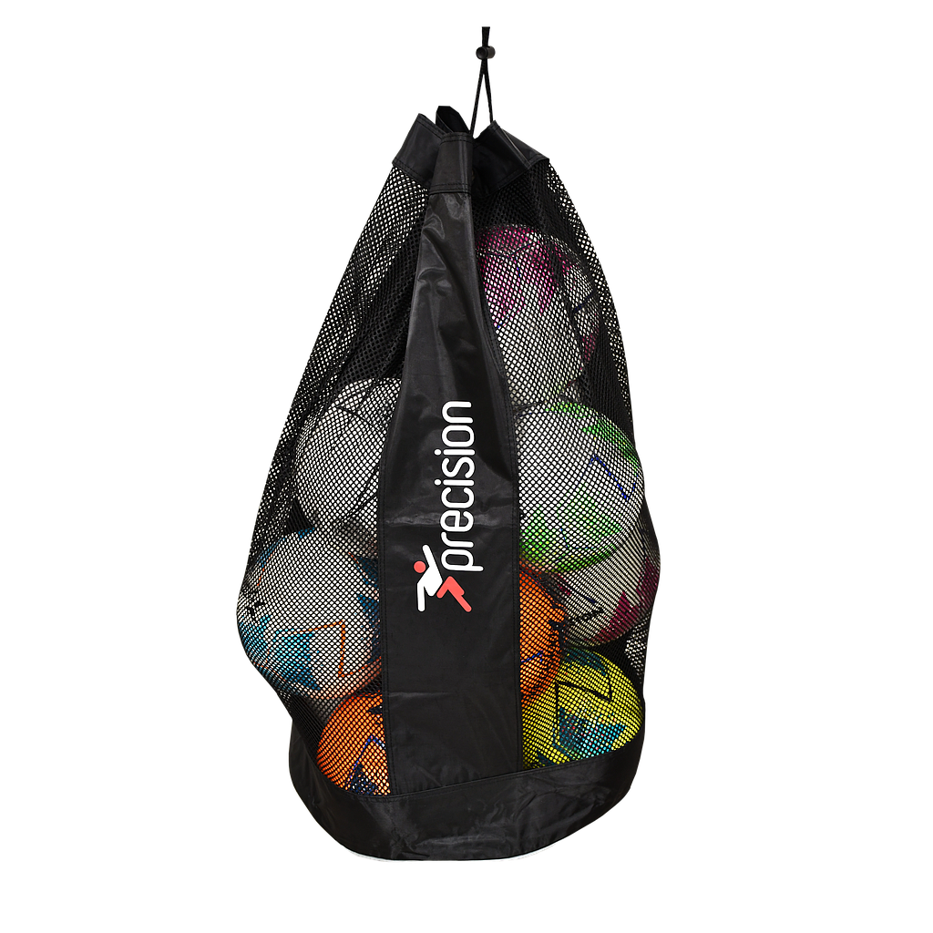 Precision 12 Ball Sack (Black/Silver)