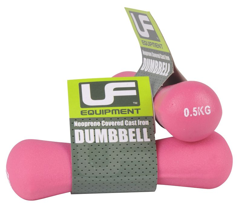Urban Fitness Bone Dumbbells Neoprene Covered (Pair)
