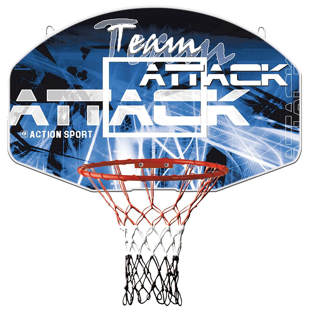 Sure Shot Team Attack Basketball Ring and Backboard (For Up To Size 5 Basketballs)