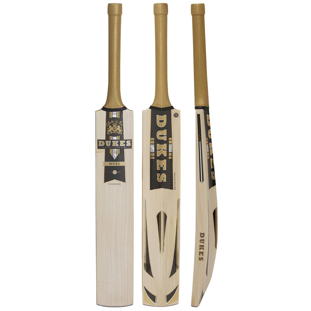 DUKES Duel Test Pro Junior Cricket Bat