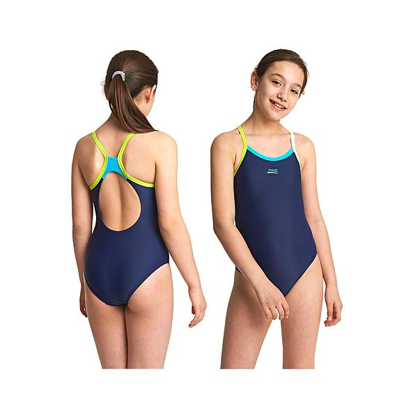 SCOOPBACK SWIMSUIT HYDROLIFE AQUA REEF WOMENS *BRAND NEW* ZOGGS