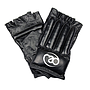 Fitness Mad Leather Fingerless Bag Glove